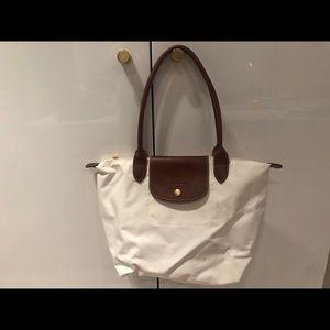 Small White Longchamp Bag